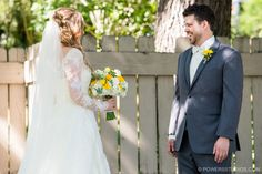 First look Image by Powers Photography Studios
