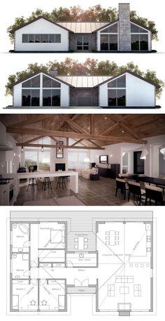 Small Home, Plan de Maison