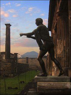 POMPEI #vesuvio #tempio di Apollo, province of Naples, Campania region Italy
