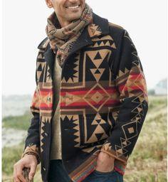 Mens Pendleton Crossroads jacket