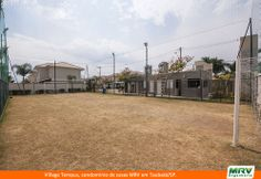 Paisagismo do Village Tempus. Condomínio fechado de apartamentos localizado em Taubaté / SP.