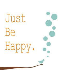 Wall decor Art Print positive happy quote by HoneyBoo on Etsy
