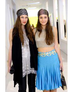 TATIANA SANTO DOMINGO E MARGHERITA MISSONI - scarfs style
