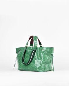 Wardy calf leather shopper bag