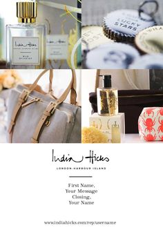 India Hicks Collage Note 1