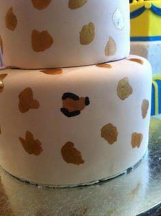 Cake Central Leopard Tutorial