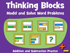 Math Playground- Thinking Blocks Math Models