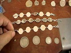 silver coins for jewellery - YouTube