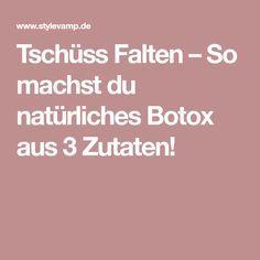Tschüss Falten – So machst du natürliches Botox aus 3 Zutaten!