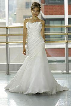 "Rivini ""Vionette"" gown, stunning, modern elegance, available at Fleur De Lis Bridal Boutique, www.fleurdelisbridal.com"