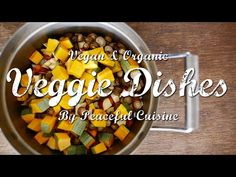 Vegan Sweet Potatoes & Pumpkin Soup| VEGGIE DISHES by Peaceful Cuisine - YouTube