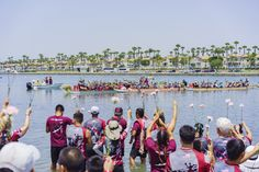 Experience the invigorating Chinese tradition of dragon boat festivals in and around Los Angeles, from Echo Park Lake to San Diego's Mission Bay