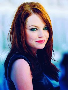 Emma Stone..  this is the style I always come back to.  Wonder if I could pull it off.  Thoughts?