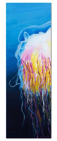 Original Acrylic Jellyfish