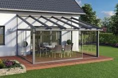 Glass and aluminium sliding doors and systems - Sliding glass doors for your patio roof and living space. Deck With Pergola, Outdoor Pergola, Patio Roof, Backyard Patio, Outdoor Decor, Pergola Roof, Cheap Pergola, Pergola Kits, Aluminium Sliding Doors