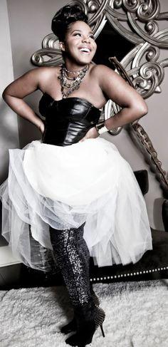 http://maryssa-ann.tumblr.com/ - corst + skirt + sequins + spiked shoes!