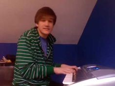 """Bo Burnham's """"Love is""""...probably my favorite song of his. I want to lick his face off."""