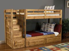 Staircase Bunk Bed for Your Kids Room