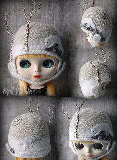 "Skull Maiden Threads hat ""No."" One-of-a-kind pieces, astonishing work. There's a waiting list for the waiting list, not kidding. Knit Or Crochet, Crochet Hats, Knitting For Kids, Kids Hats, Hat Making, Arctic, Cool Kids, Knitted Hats, Kids Fashion"