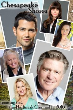 Its a Wonderful Movie - Your Guide to Family Movies on TV: CHESAPEAKE SHORES - a Hallmark Channel Movie Series Coming in 2016 - STARRING...