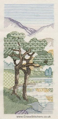 OK - Mountain Pines Blackwork Kit from Derwentwater Designs