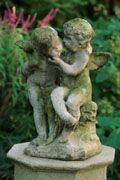 Cherubs Holding Bowl | Charleston Gardens® - Home and Garden Collection Classic outdoor and garden furnishings, urns & planters and garden-related gifts