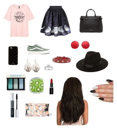 """""""created by my lil bro #2"""" by samgumgee on Polyvore featuring Vans, Burberry, Kate Spade, Lack of Color, RED Valentino, Ring of Fire, Annello, Bobbi Brown Cosmetics, Smashbox and Christian Dior"""