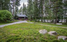 Piiraisen Kuntta Log Homes, Stepping Stones, Terrace, Sidewalk, Garden, Outdoor Decor, House, Cabins, Cottages