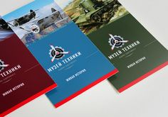 diggin' the color scheme of these brochures.