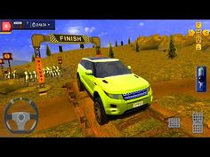 Range Rover SUV Car Parking - 4x4 Offroad Parking Simulator - Android Gameplay - YouTube