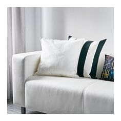 IKEA - GURLI, Cushion cover, The zipper makes the cover easy to remove.