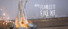 How To Make A DIY Flameless Fire Pit | Free People Blog