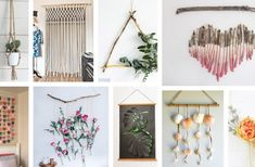 37 Dazzling DIY Wall Hanging Ideas to Decorate Your Walls on a Budget
