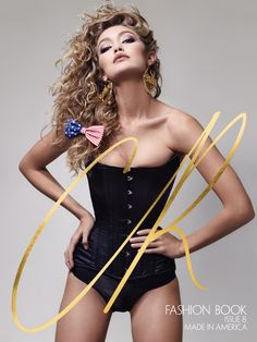 CR Fashion Book marks the launch of its eighth issue with an Americana inspired theme. The four cover girls are American models Gigi Hadid, Staz Lindes, Bentley Mescall and Kayla Scott. On Gigi's cover, she rocks a black corset number with a bow covered in an American flag print accessorizing her wavy tresses. The new …