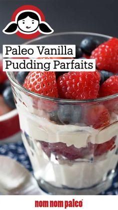 Paleo Sweets, Paleo Dessert, Healthy Dessert Recipes, Paleo Recipes, Coconut Pudding, Nom Nom Paleo, How To Eat Paleo, Paleo Breakfast, Whole 30 Recipes