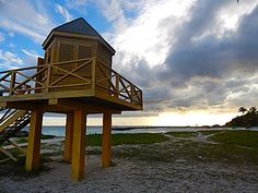 Lifeguard Stand, Needham's Point, Bridgetown, Barbados