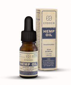 Hemp Oil Drops 300mg CBD (Cannabidiol)(3%)
