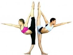 Ultimate standing bow pulling pose. One day... I will do standing splits. :))