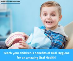 Teach your children's benefits of Oral Hygiene for an amazing Oral Health! Best Dentist, Dentist In, Oral Health, Dental Health, Childrens Dentist, Dental Check Up, Dental Center, Cosmetic Dentistry, Oral Hygiene