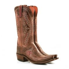 Texas Aggie Lucchese boots!!...Maybe santa will bring these to me this Christmas!