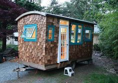 caravans fascinate me. this one is by hornbyislandcaravans.com
