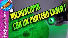 COMO HACER UN MICROSCOPIO LÁSER CASERO - LASER POINTER MICROSCOPE Hacks, Homemade, Tips