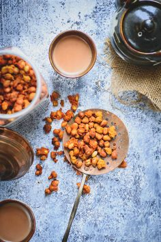 Masala Moongphali is a popular Indian dry snack which can be made ahead and stored for a long time. It is a perfect snack to serve with evening tea. Here is how to make it.
