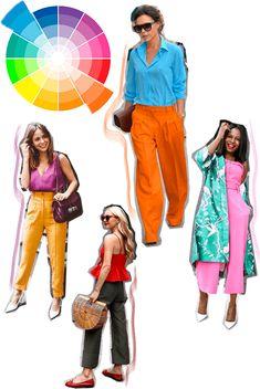 Círculo Cromático: Como combinar cores em um mesmo look