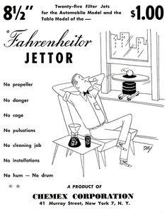 Chemex Advertisement Fahrenheitor Jettor