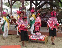 Indigenas Otomies. Termino de origen Nahuatl (quien camina con flechas). Con 646,875 personas, ocupan el 5o grupo etnico del pais.