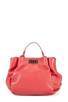 Geanta rosie din piele naturala MARGO-R -  Ama Fashion Fashion, Moda, Fashion Styles, Fashion Illustrations
