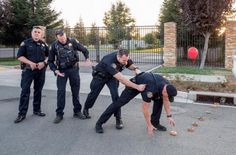 Cops in California have a sense of humor