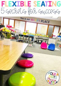 I remember the first time I ever saw a photo of a classroom with flexible seating. I just knew I had to teach in a space like that! I sp...