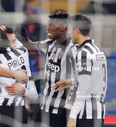 Paul Pogba of Juventus FC celebrates after...